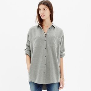 Madewell Sunday Flannel Shirt